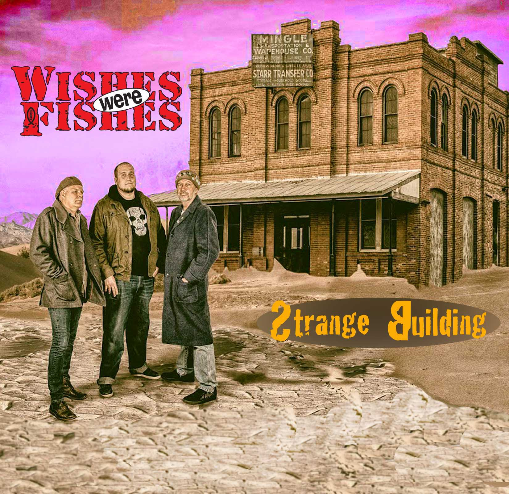 Strange Building CD album cover