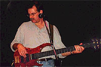 Jim Belt with the Modulus 5 String Bass